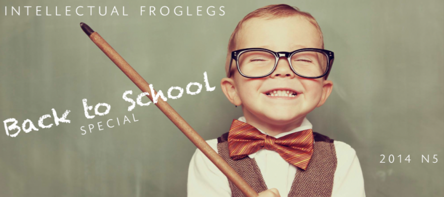Intellectual Froglegs 'Back to School Special'