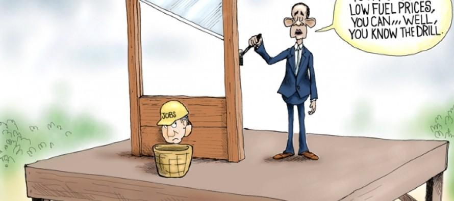 Job Killer In Chief (Cartoon)