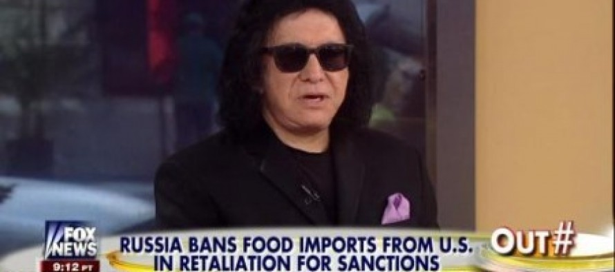 "Rocker Gene Simmons Hammers Obama: ""I think that our president is not being a leader."" (Video)"