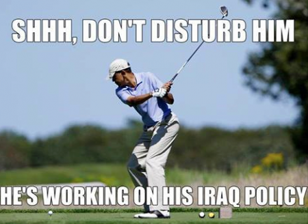 Iraq Policy golf