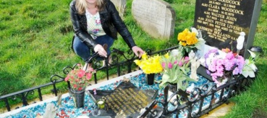 Grieving mom catches grave robber after sewing tracker inside teddy bear