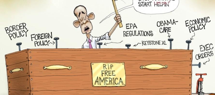 Obama's Workshop (Cartoon)