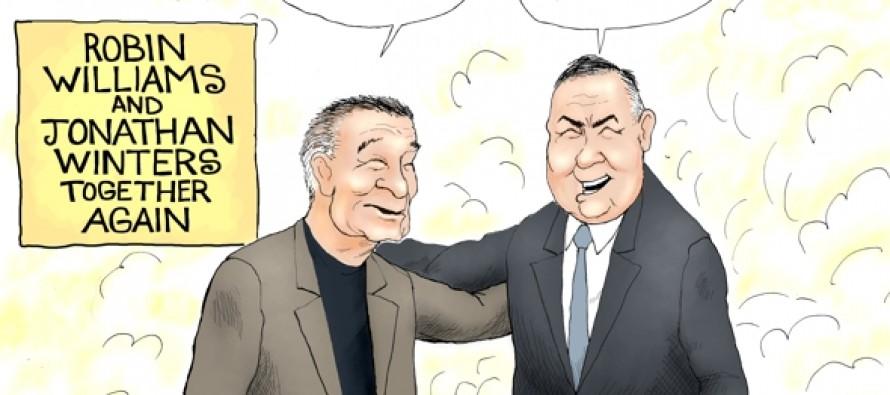 Robin Williams Passing (Cartoon)