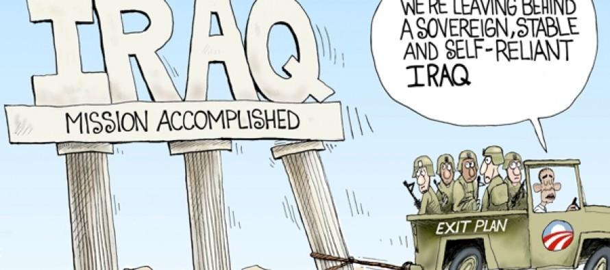 Stable Iraq (Cartoon)