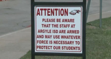 Texas schools armed to protect students