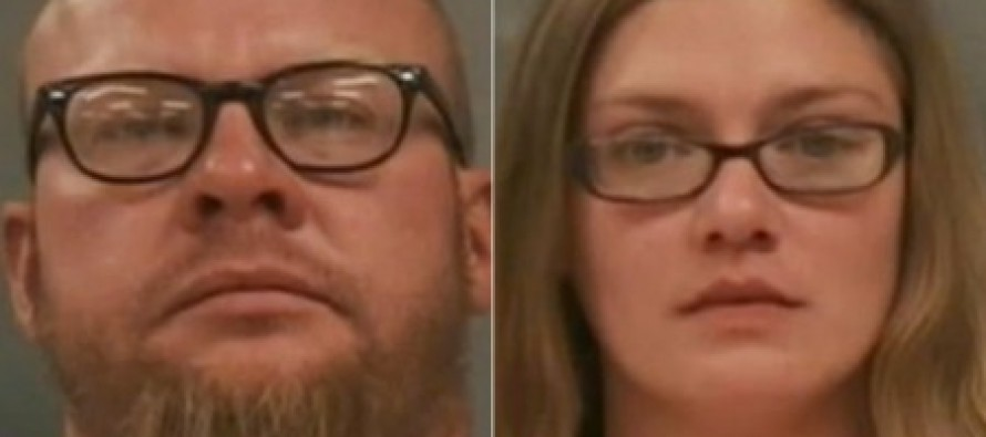 Couple 'locked their seven-year-old in an outdoor cage for three WEEKS as punishment for misbehaving'