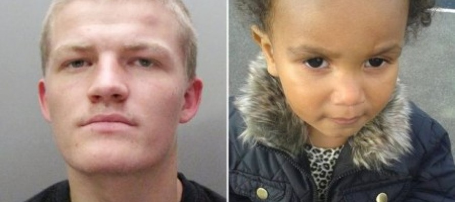 Evil murderer jailed for life for kicking a toddler so hard for soiling herself that her liver tore into two.