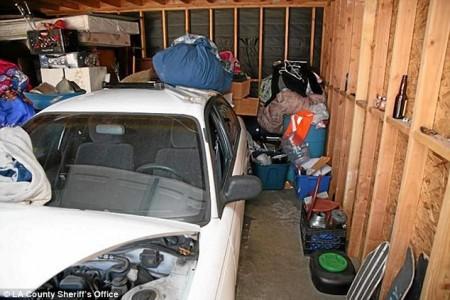 garage where girl kidnapped & held