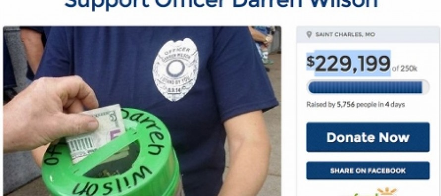 Irony At Its Finest: Liberals Tried To Shut Down Darren Wilson Fund Raiser And It Backfired Big Time