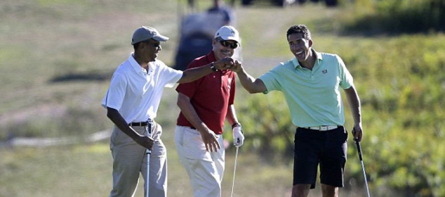 DOESN'T CARE: Obama rushes to play golf after making statement about beheading of U.S. citizen in Iraq