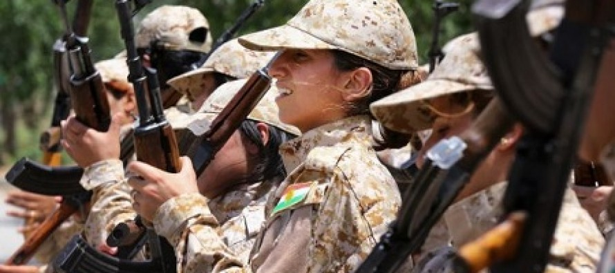 Kurds Sending All-Female Units to Battle ISIS Because Jihadists Think If They're Killed by a Woman They Won't Go to Heaven