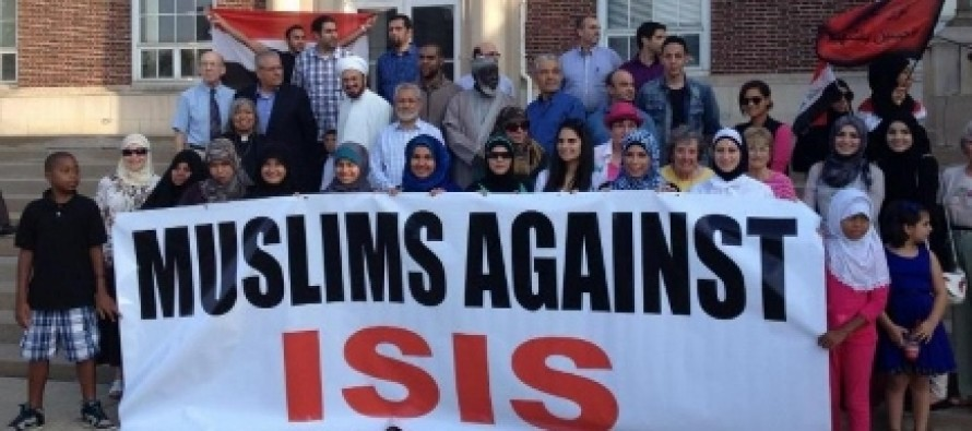 ISIS Denounced as 'The Enemies Of Humanity' at Public Protest in Michigan by Muslims