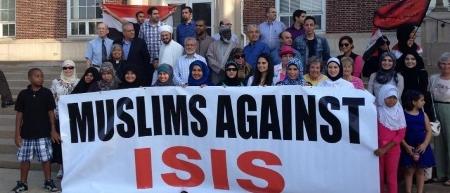 Muslim Anti-ISIS Rally