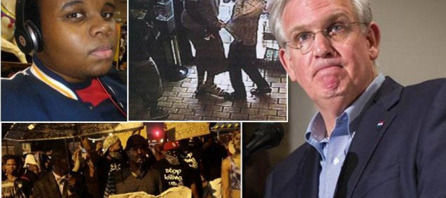 Flaming Lib Missouri Gov. Jay Nixon claims Ferguson police attempted to besmirch Michael Brown by releasing video of him stealing