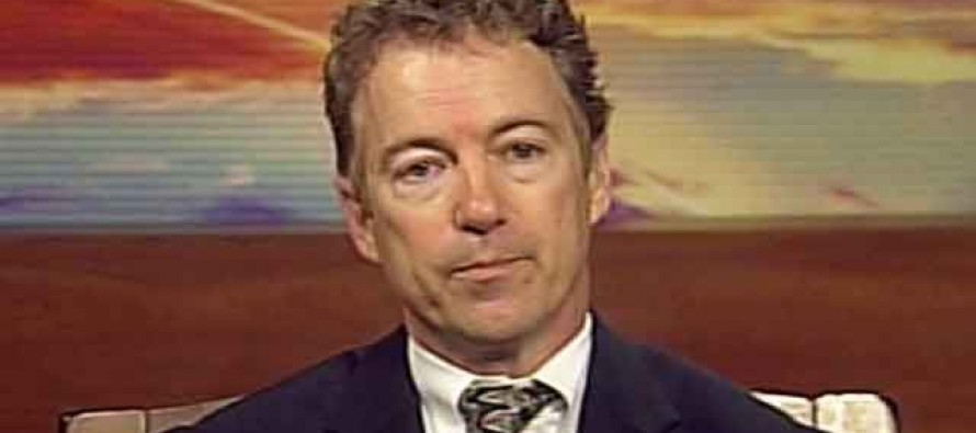 Time to cross off Rand Paul as serious GOP Prez cand for 2016: Wants Demilitarize the Police