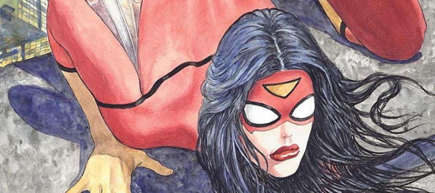 Is it Hustler or a Comic Book:  Critics unload on Illustrator's 'Spider-Woman #1' cover features heroine in overtly sexual pose