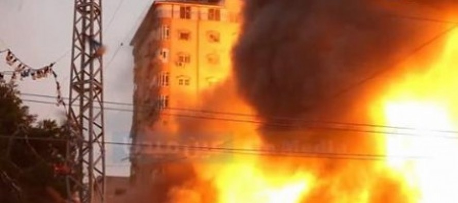 VIDEO: Israel Obliterates Hamas Headquarters In Massive Explosion [WATCH]