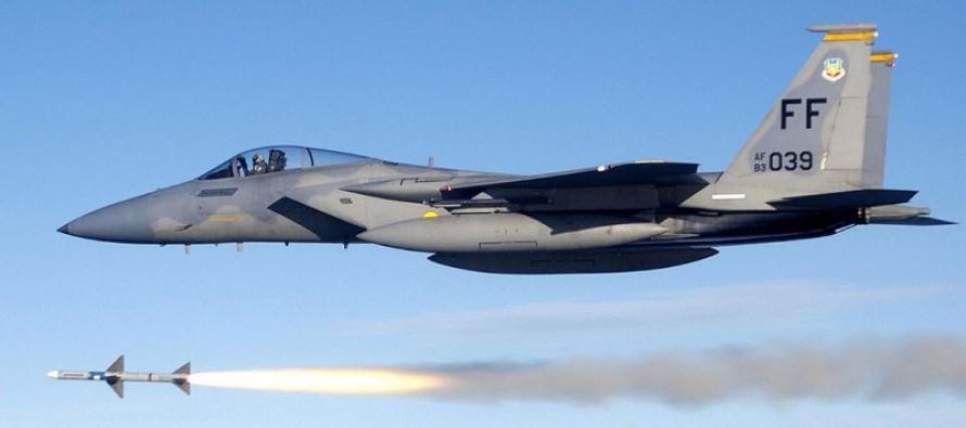 VIDEO: WATCH A F-15 Strike On An ISIS Compound Near Kobani, Syria