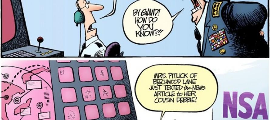 Bad Surveillance (Cartoon)