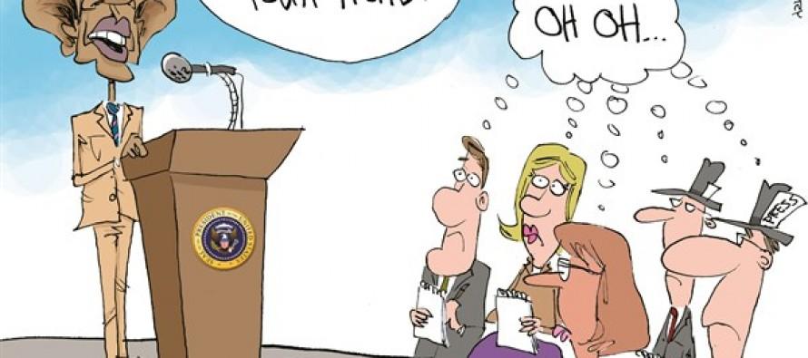 Obama ISIS (Cartoon)