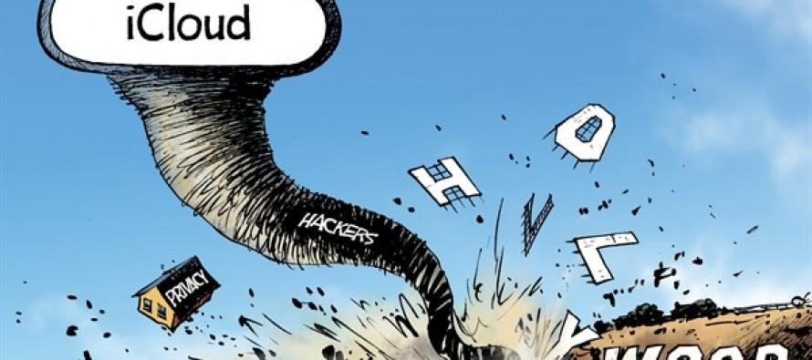 iCloud Hacking (Cartoon)