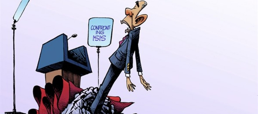 Confronting ISIS (Cartoon)