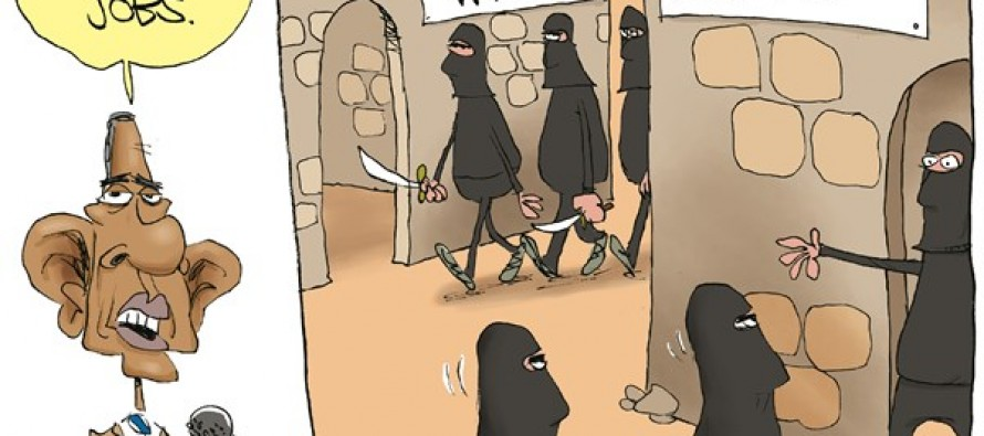 Obama Grows ISIS (Cartoon)