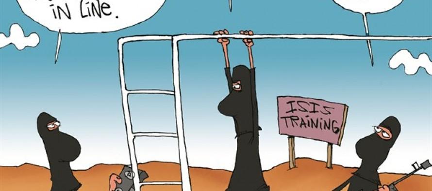 Ray Rice ISIS (Cartoon)