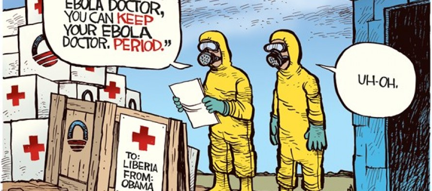 Ebola Doctor (Cartoon)