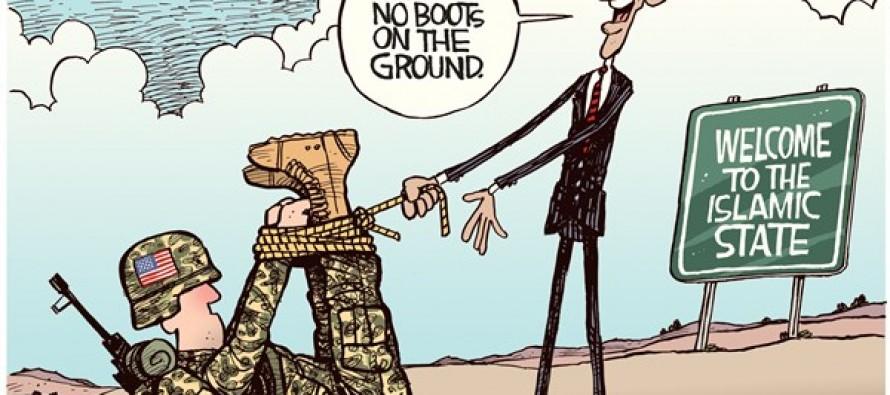 Boots on Ground (Cartoon)