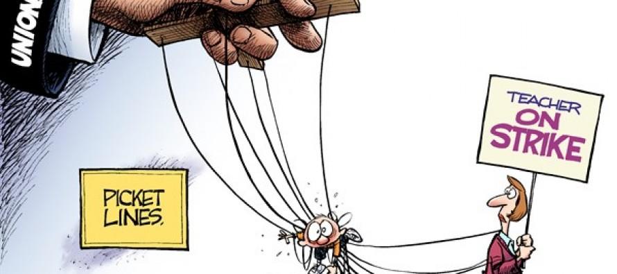 Picket Lines (Cartoon)