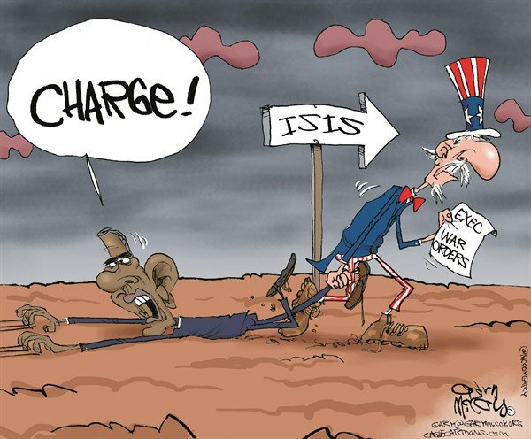 Image result for obama isis cartoon