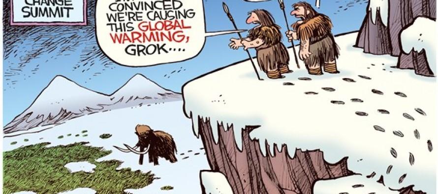 First Climate Summit (Cartoon)
