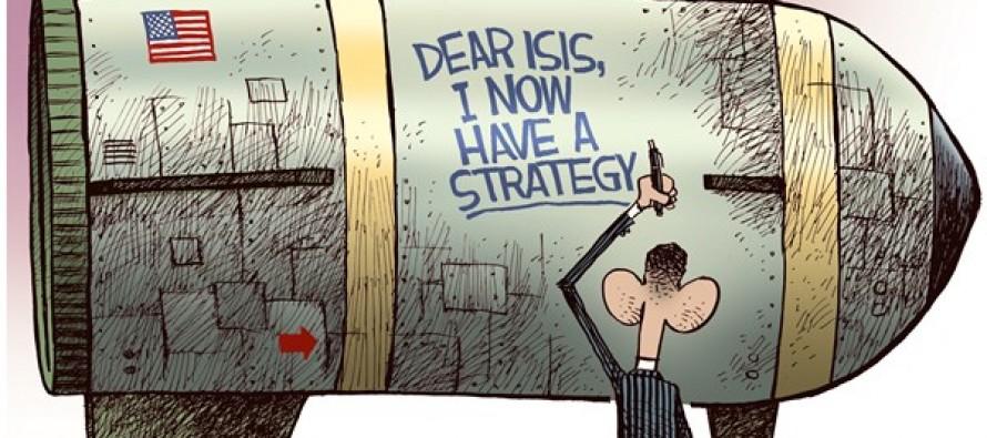 ISIS Strategy (Cartoon)