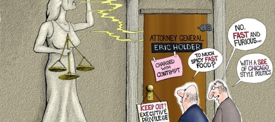 Eric Holder Political? (Cartoon)