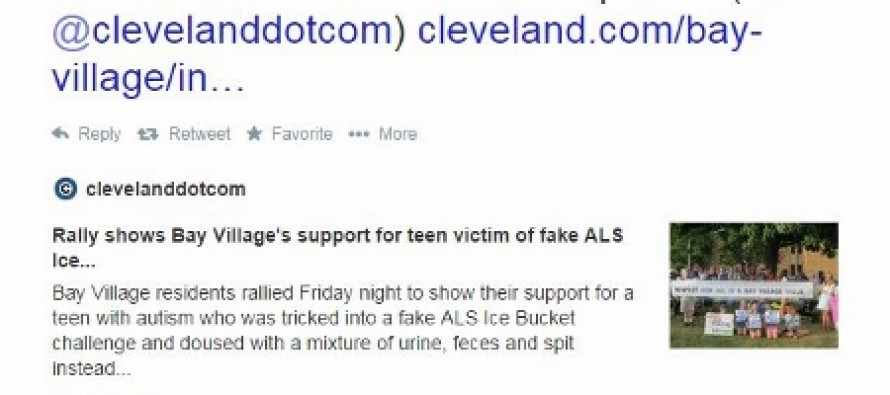 When Autistic Teen is Tricked into Twisted Version of Ice Bucket Challenge – Drew Carey Takes Action!