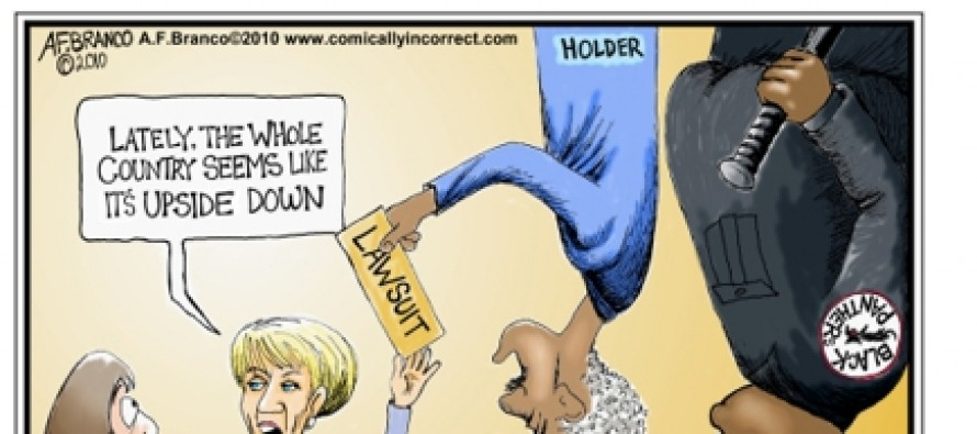 Eric Holder Cartoons (Cartoon)
