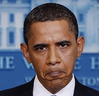 Pouting-Obama