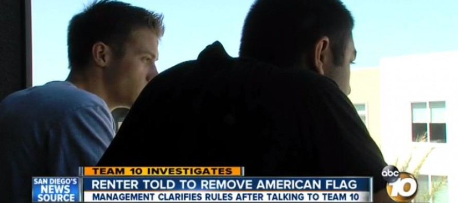 "College Student Told to Remove American Flag from Balcony, it ""Could Offend Foreign Students"""