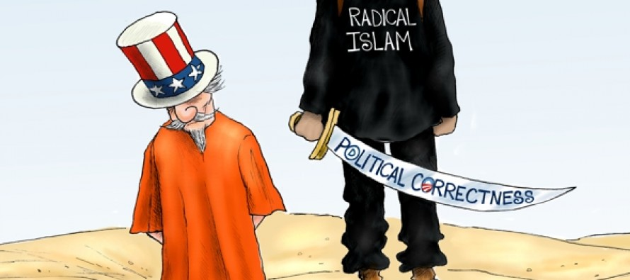 Terrorism in America (Cartoon)