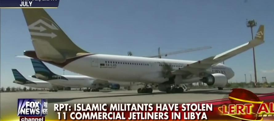 Stolen Libyan Planes Now The Focus Of 'Credible Intelligence' in Possible Terror Attacks