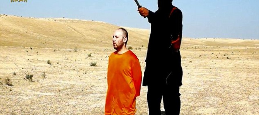 ISIS Releases Video of Second Beheading of American & Taunts Obama: 'Obama, Just Back Off and Leave Us Alone'