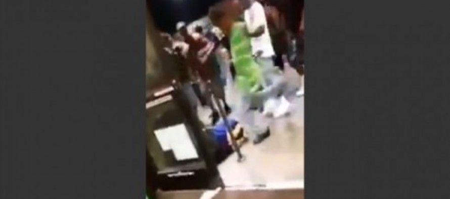 BLACK MOB LAUGHS ON VIDEO As Kroger Store Employee is Beaten Unconscious in Parking Lot (VIDEO)