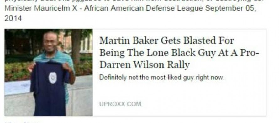 Black Panthers Threaten to Lynch Black Conservative for Supporting Darren Wilson