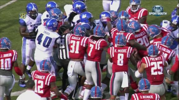 brawl Memphis_vs_Ole_Miss