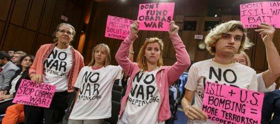 Code Pink Outraged U.S. Bombing ISIS..