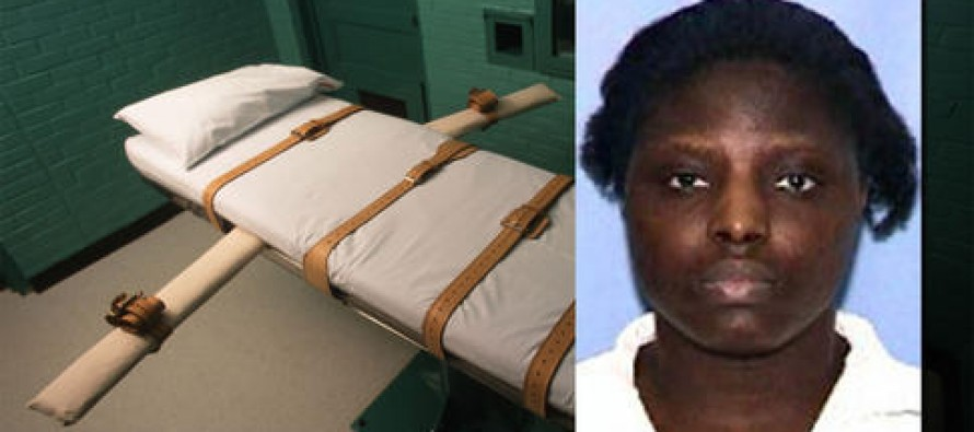 Texas executes woman for starvation, torture and murder of a 9-year-old boy.