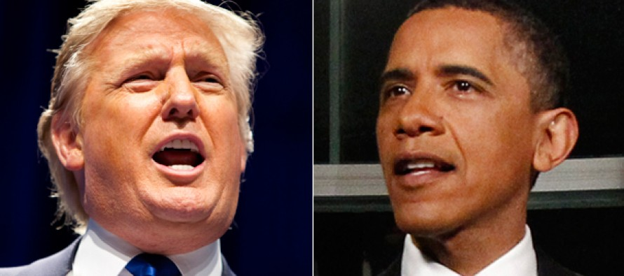 "Donald Trump just made Obama a hysterical offer to ""resign from office NOW"","