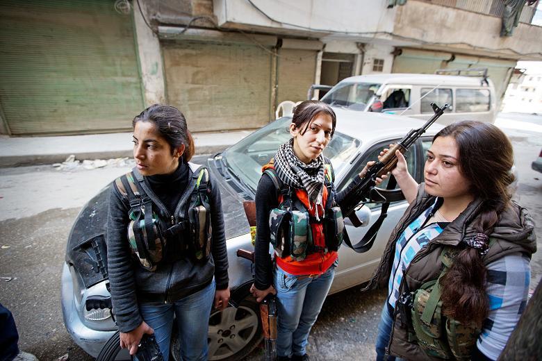 female-kurds