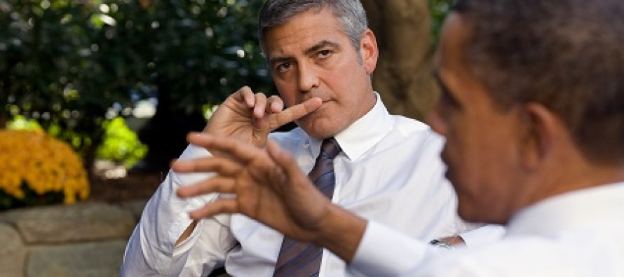 Hypocrite of the Day: Climate Crusader George Clooney Takes Private Jet to Germany for Medical Treatment